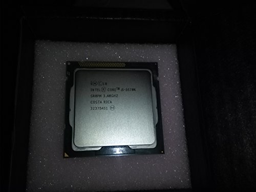 Intel Core i5-3570K - Procesador de 3ª generación (3,4GHz, L3-Cache, zócalo LGA 1155, 77W TDP)