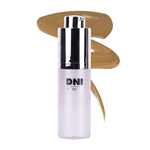 Maquillaje fluido efecto tensor, Resolutive, 30ml · nº 3, tono piel morena, DNI MAKE UP