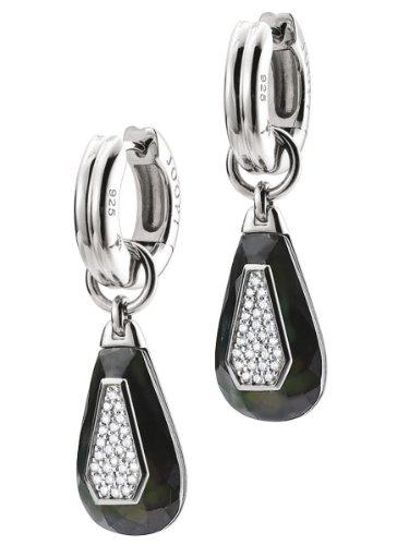 Joop! Damen-Ohrhänger mit Zirkonia 925 Sterling Silber JPCO90123B000