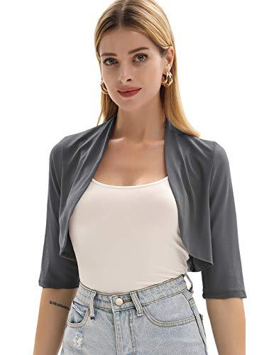 GRACE KARIN Shrugs for Ladies festlich Damen Bolero hülsen Bolero Elegante Bolero M CL026-3