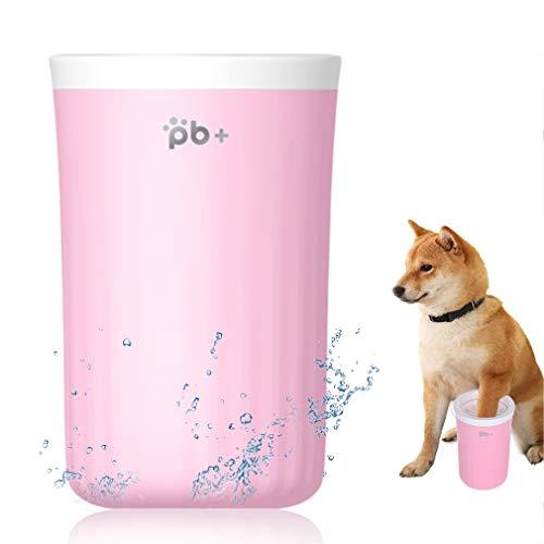 Limpiador de patas para mascotas, limpiador para patas de perro, limpiador de patas de silicona suave para mascotas para limpiar patas de perros y gatos, limpieza portátil de patas para mascotas