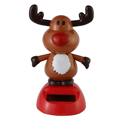 Solar Dancing Toy Christmas Theme Figure Bobble Head Toy Dancing Swinging Animated Bobble Dancer Toy for Party Ornament, Home Desk Decoration - #8