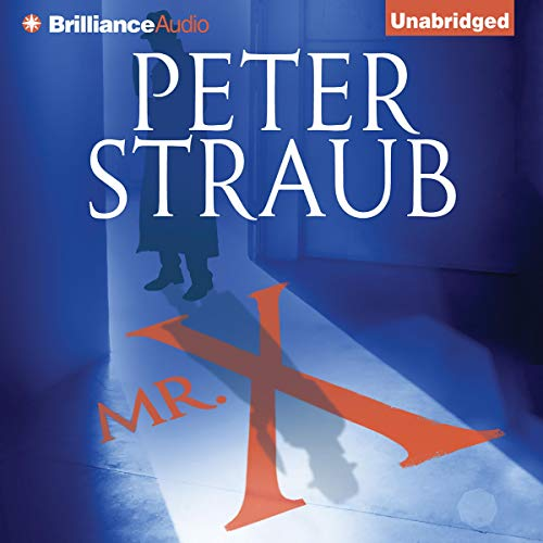 Mr. X Audiobook By Peter Straub cover art