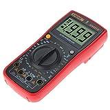 WY-YAN Pantalla LCD multímetro digital + 16 en 1 Combinación de tensión de línea actual Herramienta de medición del multímetro Preciso