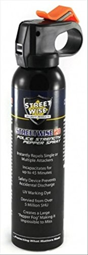 Streetwise Security Products Police Strength Streetwise 23 Pepper Spray, 9-Ounce, Fire Master