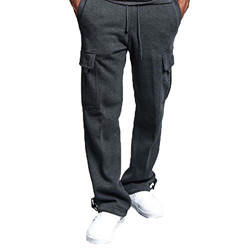 Primavera Y OtoñO Moda Ropa De Trabajo Pantalones Pantalones Deportivos Para Hombres Pantalones Sueltos Para Correr Pantalones De Atletismo Pantalones Deportivos De Bolsillo Ocasionales Hombres