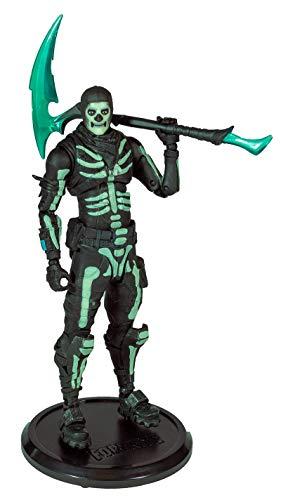 McFarlane Toys Fortnite Action Figure Green Glow Skull Trooper (Glow-in-The-Dark) Walgreens Exc