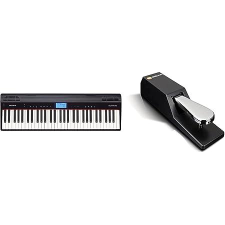 Roland GO-61P Clavier Electrique & M-Audio SP-2 - Pédale de Sustain Universelle de Type Piano pour des Claviers Électroniques, Contrôleurs Midi, Pianos Numériques, Synthétiseurs, Orgues et Plus Encore
