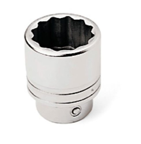 Expert E032426 6 Point Socket with 1-1/8-Inch Drive, 1/2-Inch by Expert