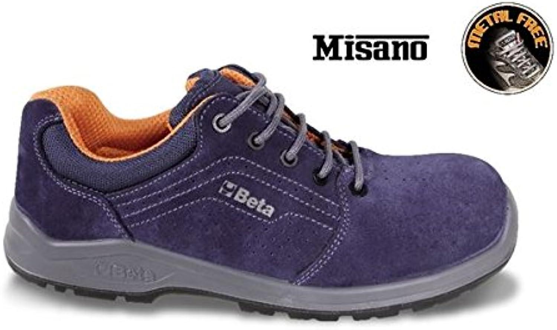 Beta Tools 072100443 7210PB UK 9 [EU 43] Suede shoes Perforated Composite Toe Cap Composite Fibre Penetration Proof Insole