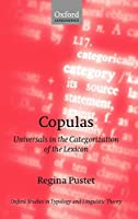 PUSTET : COPULAS - UNIVERS CATEG (Oxford Studies in Typology and Linguistic Theory)
