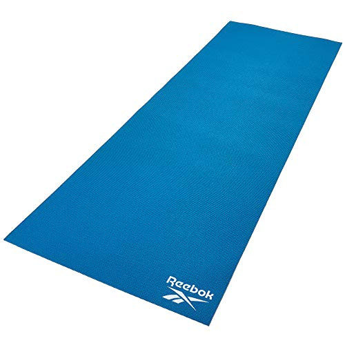 Reebok RAYG-11022BL Esterilla de Yoga, Azul, 173 x 61 x 0.4 cm