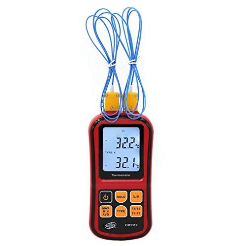 RTYUU Thermoelementhermometer, elektronische thermometer, contact, watertemperatuur, mechanisch, -50~300 °C (Senza batterij)