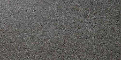 fliesenmax Feinsteinzeug Bodenfliese Avalon dunkelgrau 30x60cm Steinoptik