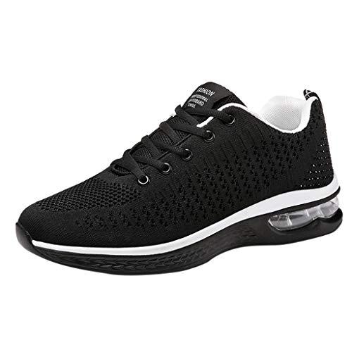 MISSQQ🍑Scarpe Running Sneakers Uomo Donna Sport Scarpe da Ginnastica Fitness Respirabile Mesh Corsa Leggero Casual all'Aperto