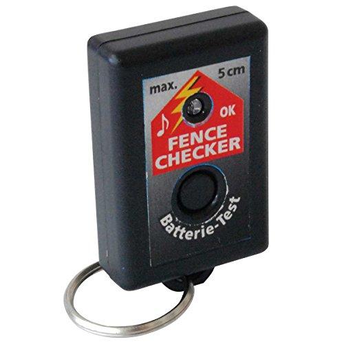 Akustisches Kontrolle/Laufwerk für Zäune Werkzeugset geeignet für Systeme von Zaun von kleinen und mittleren Abmessungen. Dieses Gerät Alarm akustisch und optisch Wenn es ist Spannung am Zaun. Batterien Enthalten.