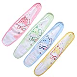 EXCEART 4pcs Baby Infant Umbilical Cord Cotton Belly Band Baby Umbilical Hernia Belt Navel Protection Belt for Infant Newborn (Random Colors and Styles)