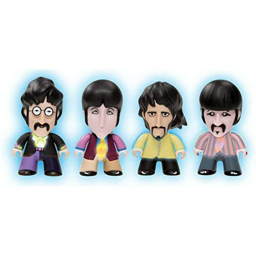 Titans Vinyl Figures - Beatles GID Fab Four Pack