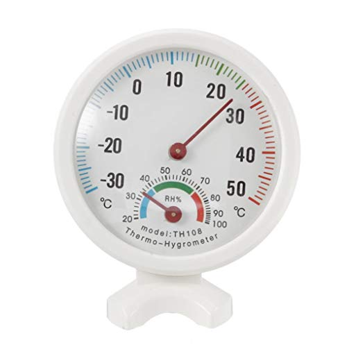 Yongse -35-55 Degree Mini Binnen Analoge Temperatuur Vochtigheid Meter Thermometer Hygrometer