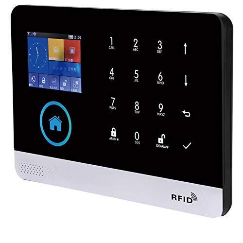 DAUERHAFT Kit de Sistema de Alarma de Seguridad de Alarma de Seguridad para el hogar(European Standard (100-240v))