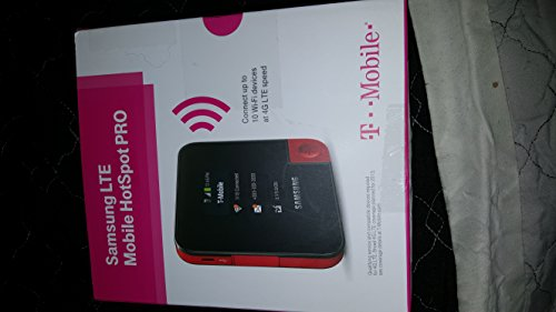 T-Mobile Samsung SM-V100T LTE 4G - Wireless Broadband Hotspot Pro