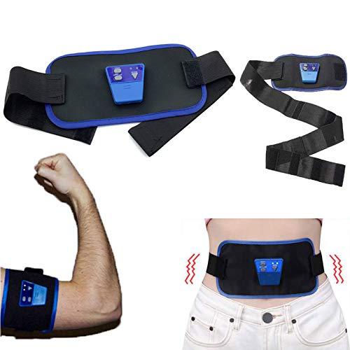 SISHUINIANHUA Cinturón de Masaje Adelgazar Cuerpo Músculo electrónico AB Gymnic Brazo Pierna Cintura Peso Perdido Masajeador Cinturón Cuidado de la Salud Producto para Adelgazar