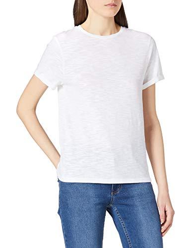 BOSS C_emoi 10214849 01 Camiseta, White100, M para Mujer