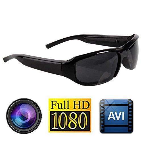 Cámara espía Gafas de Sol - Al Aire Libre Moda HD Mini DV Oculto 1080P Video Grabador de Audio Gafas Cámara DVR Disparo 500 Pixeles