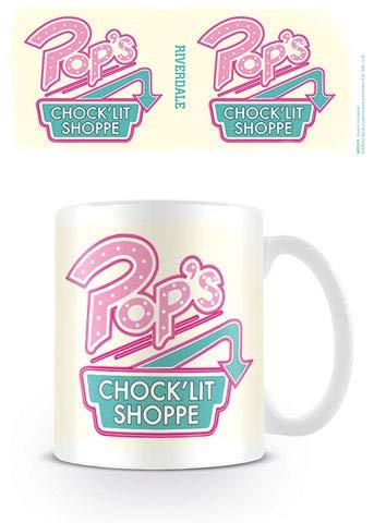 empireposter Riverdale - Pop's - Tasse Keramik Kaffeebecher - Serie - Größe Ø8,5 H9,5cm