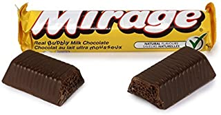 10- Mirage Real Bubbly Milk Chocolate Bars 41g