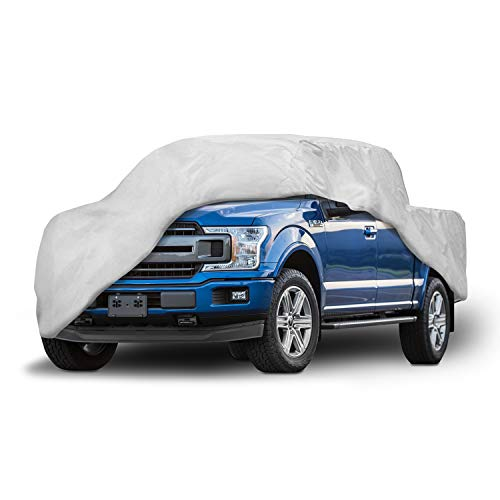 Motor Trend T-800 Truck Cover for Ford F-150 2001-2019 Super Crew/Cab Short Bed Custom Fit All Weather Waterproof Pickup Protection