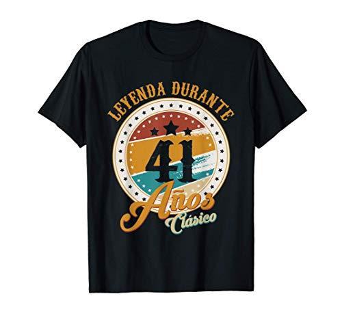 Regalo 41 cumpleaños hombres mujeres nacido en 1979 41 años Camiseta