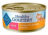 Blue Buffalo Healthy Gourmet Natural Adult Pate Wet Cat Food, Turkey & Chicken