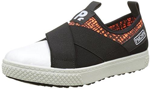 Primigi 7630000.0 - Zapatillas de Deporte de Sintético Niñas, Negro (Negro (NE AR FL NE BIA 7630000.0)), 29 EU