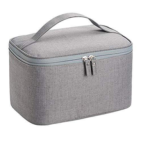 GREENLANS - Bolsa de lavado, bolsa de viaje portátil para artículos de tocador, bolsa de maquillaje, organizador con cremallera
