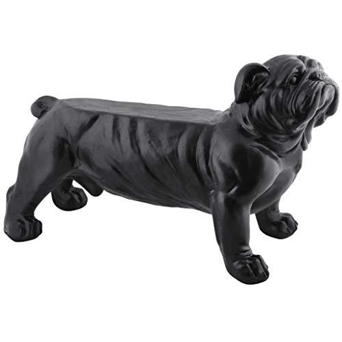 Esschert Design tuinbank Bulldog zwart parkeerbank zitbank tuindecoratie