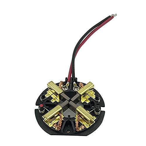 Escobilla de carbón, soporte de escobillas de carbón, kit de montaje de tarjeta de escobilla, repuesto para AEG Milwaukee M18 18 V M12, accesorios para taladro percutor y atornillador de impacto.