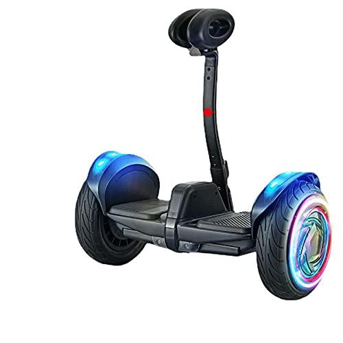 yishan 10' Patinete eléctrico, Hoverboard,Patinete Eléctrico Auto Equilibrio Hover Scooter Board, Rueda con luz LED Intermitente, para niños y Adultos