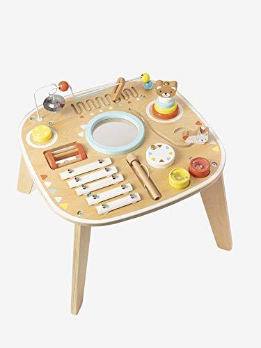 Vertbaudet - Mesa de actividades y de estimulación musical, multicolor