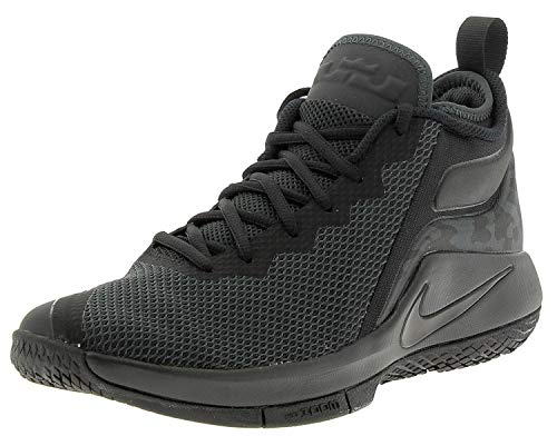 Nike Herren Lebron Witness II Schwarz Textil/Synthetik Sneaker 42.5