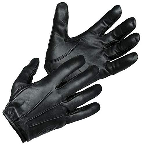 TACTICAL POLICE KEVLARLINER CUT RESISTANT PATROL DUTY SEARCH GLOVES (Medium)