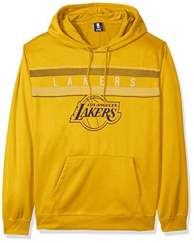 Ultra Game NBA Los Angeles Lakers Mens Fleece Midtown Pullover Sweatshirt, Team Color, XX-Large
