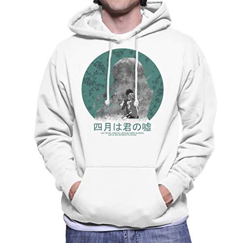 I Met The Girl Your Lie in April Men's Hooded Sweatshirt
