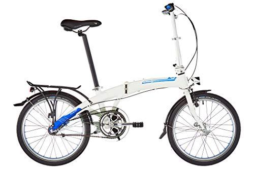 "Dahon Bicicletta pieghevole Curve i3 20"" - Argento"