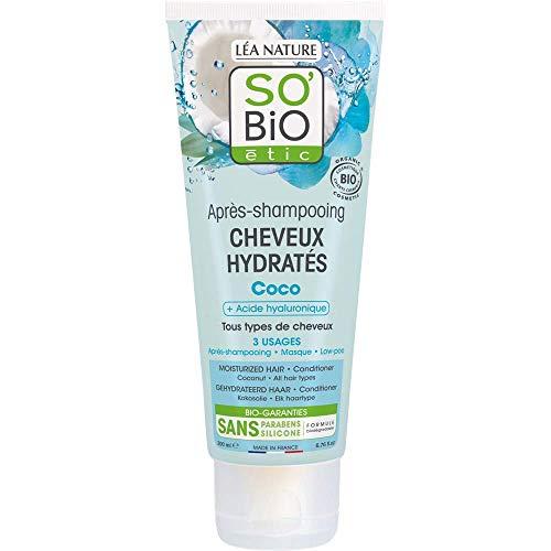 professionnel comparateur So'bio Etic Coconut Revitalisant Hydratant – Tube 200ml choix