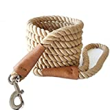 10 FT DOG LEASH to give dogs more room to play sniff and explore. Release the nature of dog in your control. TWISTING ROPE LEASH is sturdy and durable, strong enough to provide extra strength for controlling medium large dogs, farm animals and horse....
