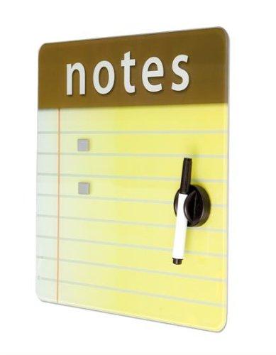 Tableau verre Notes magnétique