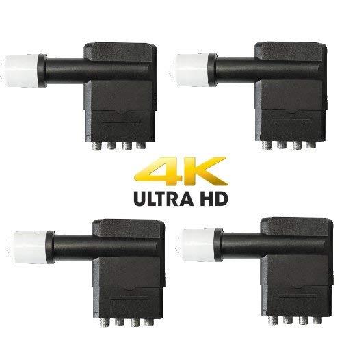 Megasat 4X Multifeed Quad LNB 0.1 db 4K UHD tauglich