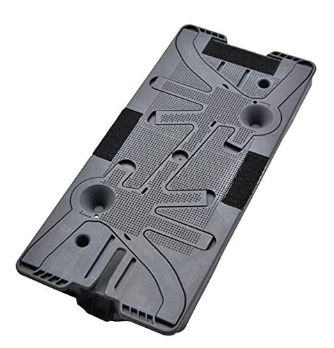 FSProdukte Piastra di ricambio per panno adatto per il vostro Vorwerk Folletto SP600 SP 600 e tergicristallo a batteria Vorwerk SPB100 SPB 100