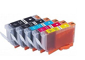 Compatible CLI-8  5 color/set /PGI-5BK/CLI-8BK/CLI-8C/CLI-8M/CLI-8Y print cartridge for Canon MP610/MP600R/MX850/MP600/MP610/MP800 printer